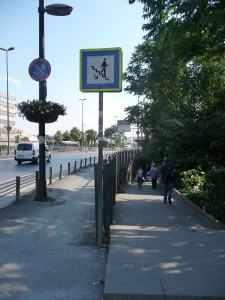 underpass from Halic metro